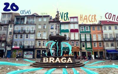 20 cosas que ver, hacer y comer en Braga