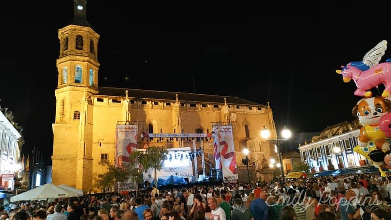 plaza-fiestas-del-vino-valdepeñas